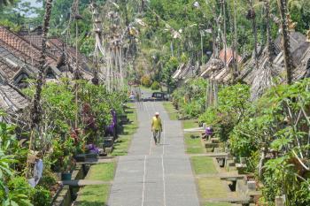 Desa Penglipuran kembali dibuka setelah tutup akibat pandemi Covid-19